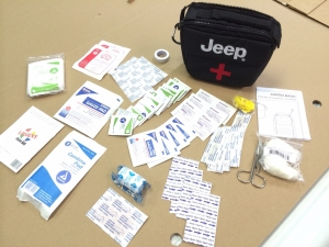 NEW Mopar Jeep Wrangler (JK) First Aid Kit (Out of stock)