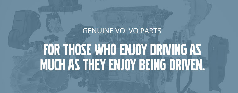Genuine Volvo parts