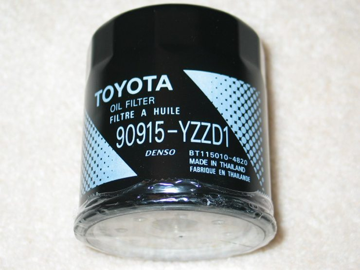 Toyota Genuine Oil Filter 90915-YZZD3