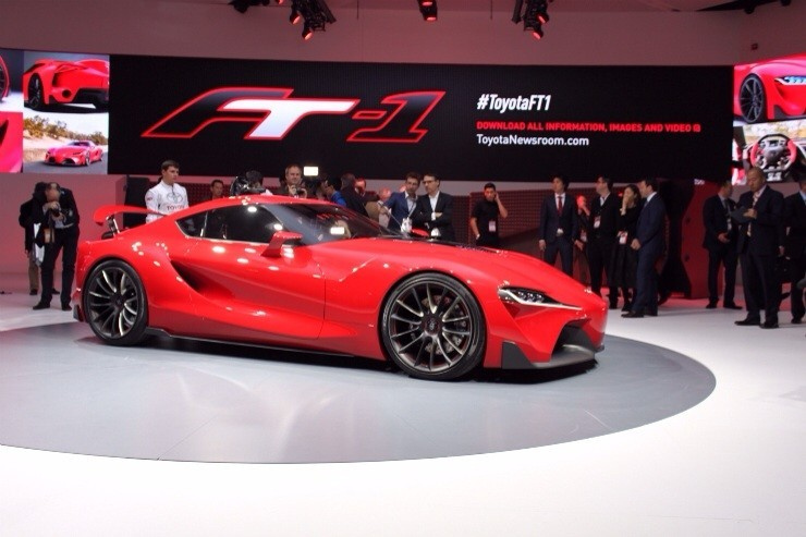 Toyota FT-1 Concept Debuts - Profile
