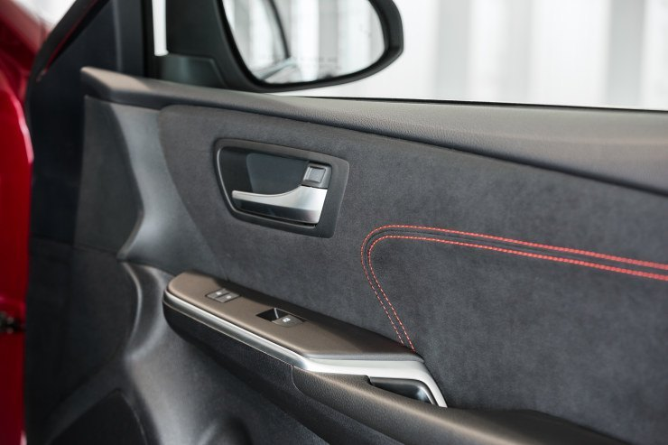 2015 Camry door panel close-up