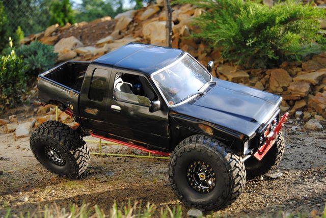 Toyota toy truck 1