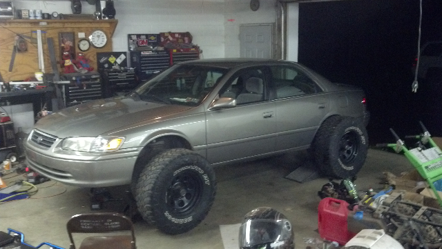 What Happens When Camrys Go Off Roading Toyota Parts Blog