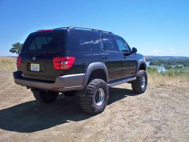 Lifted Sequoia 8