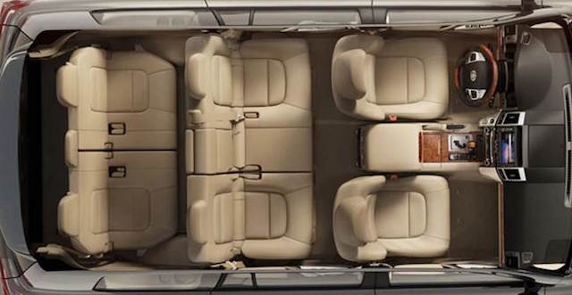 Land cruiser seating
