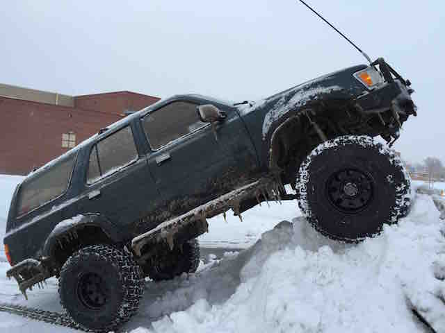 Winter wheel 4Runner