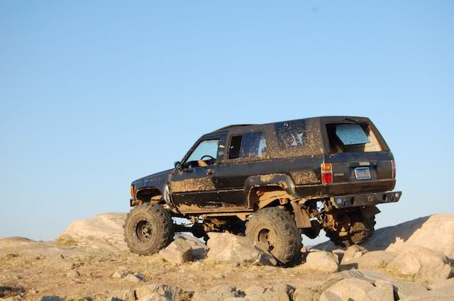 Blk mud 4runner