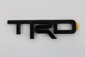 TRD SPECIAL EDITION BADGE - BLACK