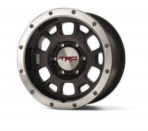 TRD PRO 16-IN. OFF-ROAD BEADLOCK-STYLE WHEELS