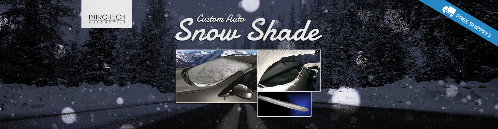 Intro-Tech Automotive Custom Cut Snow Shades