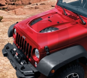 JEEP WRANGLER RUBICON POWER DOME HOOD KIT MOPAR (82213656AC)