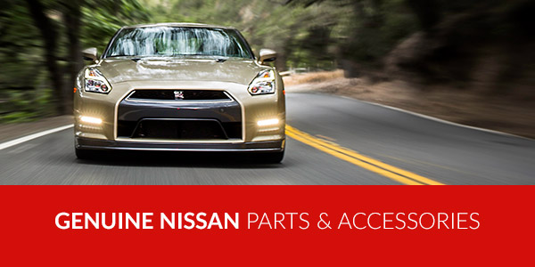 Genuine Nissan parts & accessories
