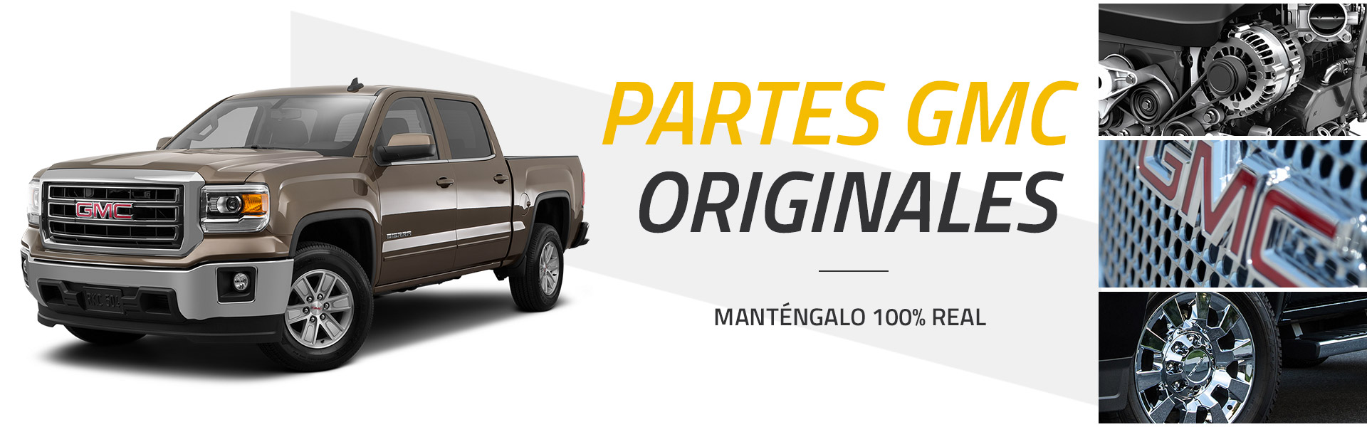 Partes GMC originales - Mantengalo 100% real