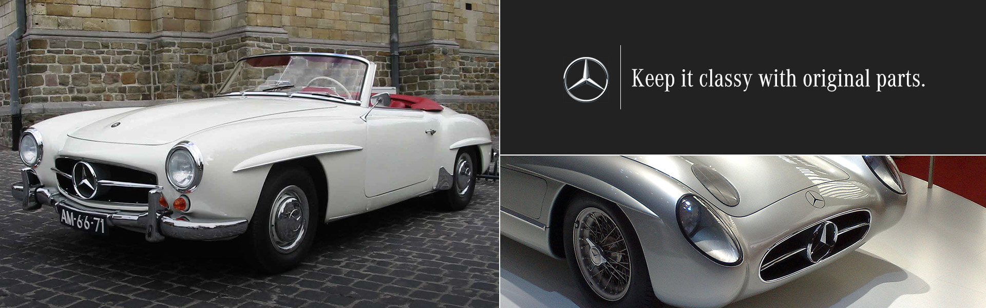 Keep it Classy with Original Mercedes Benz Parts