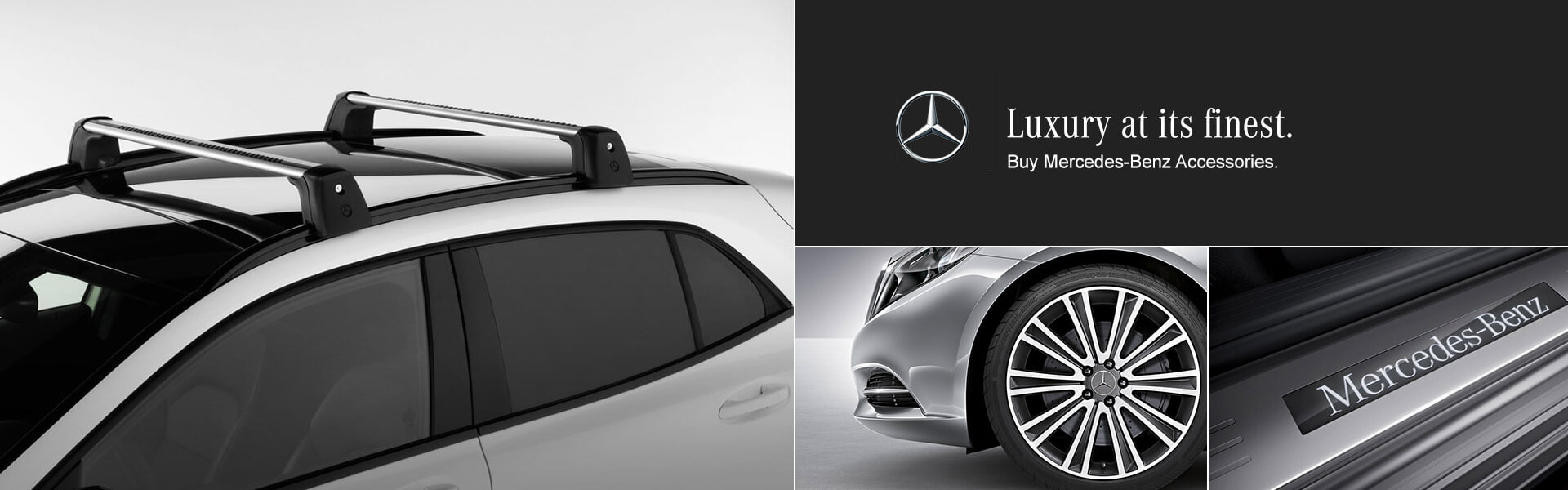 Luxury at its Finest - Trust only Mercedes OEM Accessories
