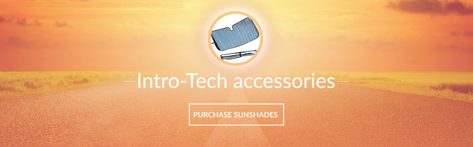Intro-Tech Honda sunshades