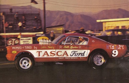 Bill Lawton with the Tasca Ford Mystery 9