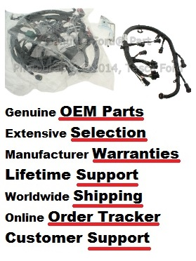 oem ford 6l wiring harness kit 3c3z12b637ab tascaparts com shop tascaparts com today for the best oem ford prices around