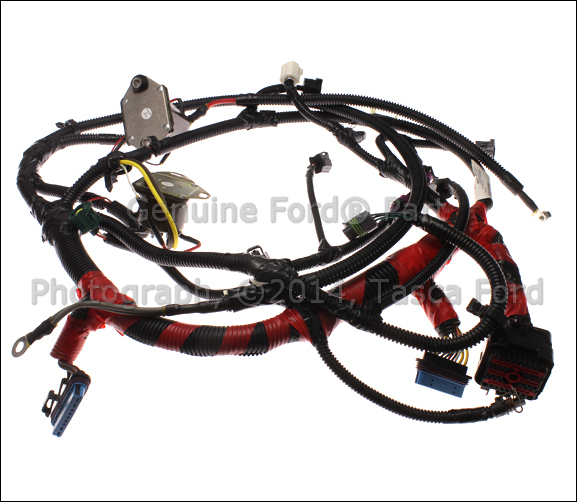 Oem Ford Wiring Harness  F81z