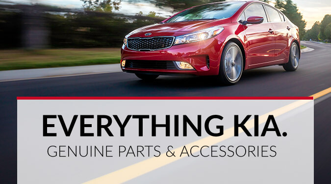 Genuine Kia parts and accessories