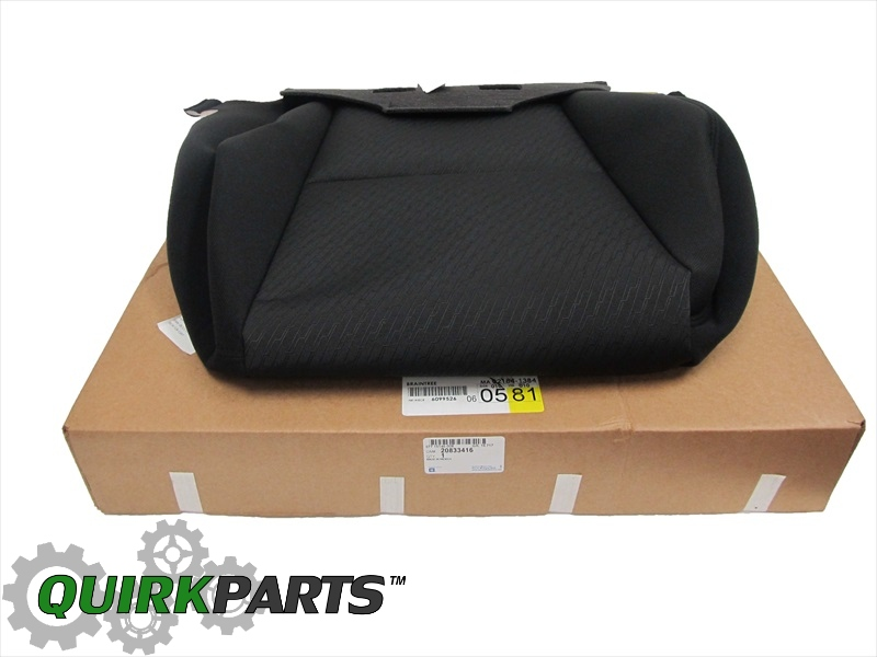 Gm Replacement Seat Covers : Seat cover genuine gm