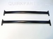 2007-2014 Mazda CX-9 Cross Bars Genuine OEM NEW Part # 0000-8L-N02B