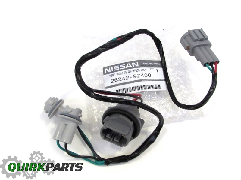 2000 2014 nissan frontier headlight wiring harness cable oem new 2000 2014 nissan frontier headlight wiring harness cable oem new genuine nissan 26242