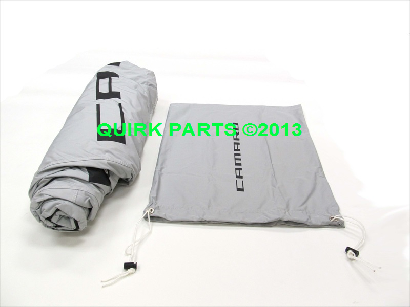 Chevy Camaro Convertible Gray Outdoor Vehicle Cover OEM NEW Genuine