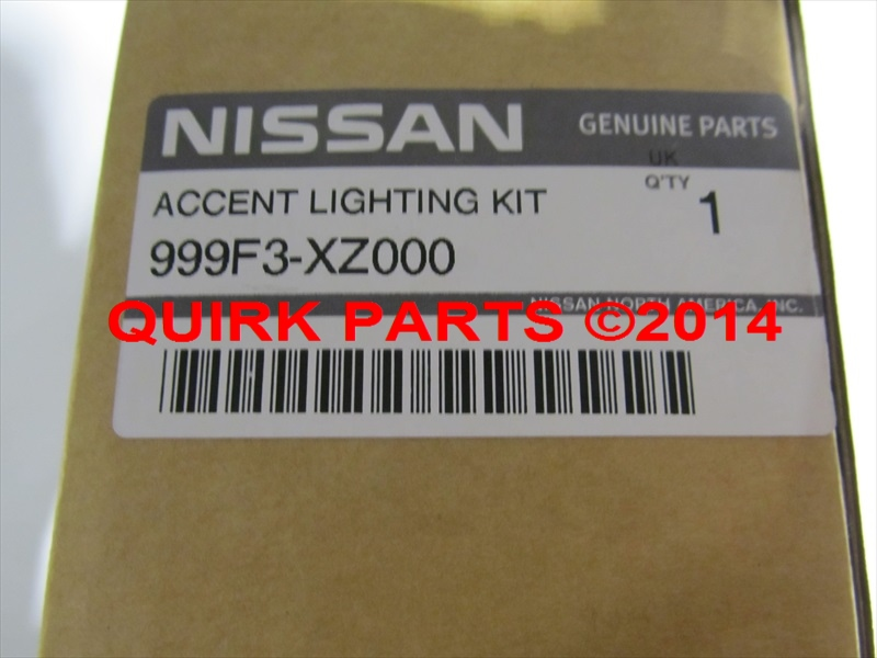 2013-2015 Nissan Pathfinder Interior Ambient Accent Lighting Kit OEM NEW Genuine