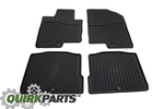 2014 Kia Cadenza All Weather Floor Mats OEM BRAND NEW Genuine Part # 3R013-ADU00