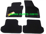 12-14 VW Beetle & 13-14 Beetle Convertible Monster Floor Mats Set OEM TURBO LOGO