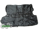 Rear Seat Cover With Touareg Logo - Black