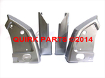 2012-2014 Subaru Impreza 5-D Splash Guard Mud Flap Ice Silver Metallic OEM NEW