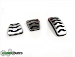 2012-2013 Kia Soul Manual Transmission Stainless Sport Pedal Kit Genuine OEM NEW