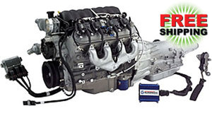 LS376/480HP 6.2L Connect and Cruise Crate Powertrain System -2WD