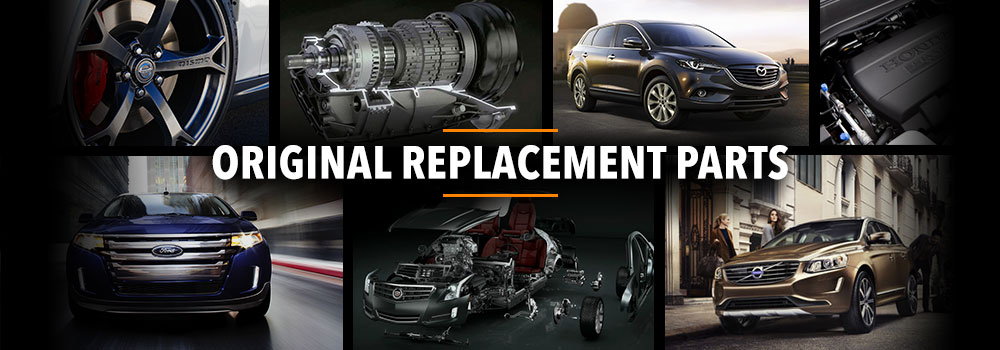 Original replacement parts - Mopar and GM genuine parts