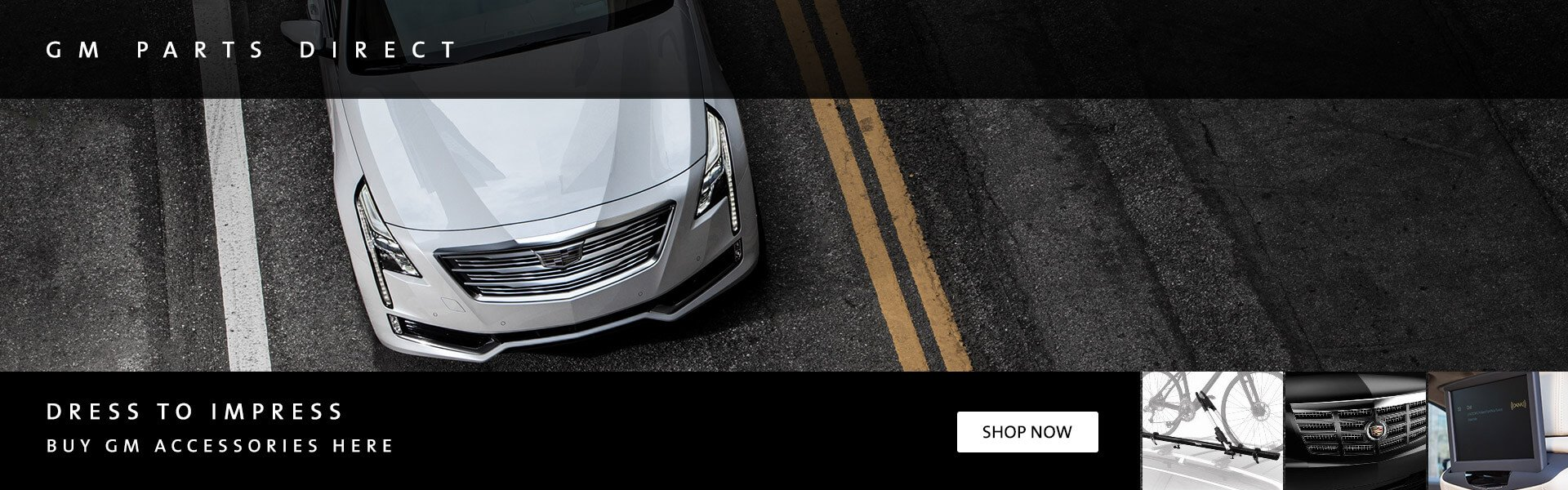 gm cadillac oem accessories