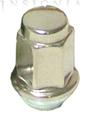 Lug Nut - With Stainless Steel Polished Cap