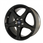 WHEEL MATTE BLACK FOCUS 2012-14