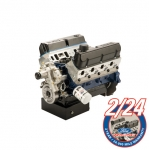 CRATE ENGINE 363 Z-HEAD IRON BLOCK - FRONT SUMP