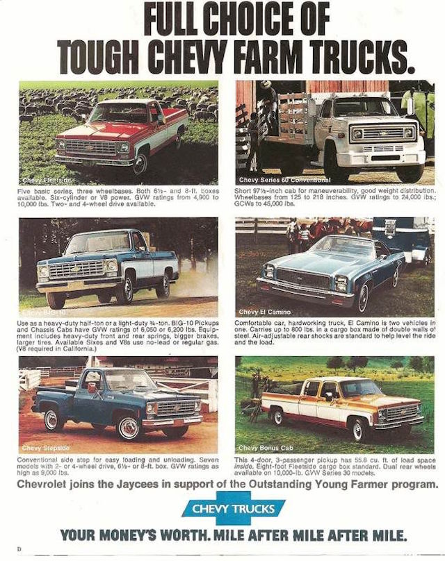 Chevy truck ad 5
