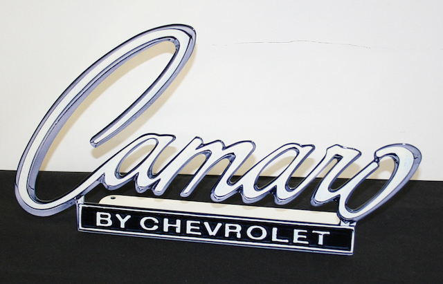 Camaro facts badge