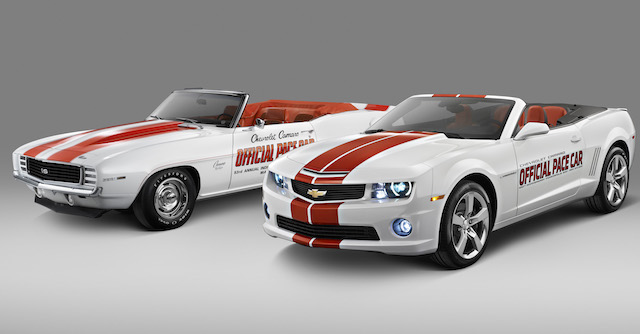 Camaro facts pace car