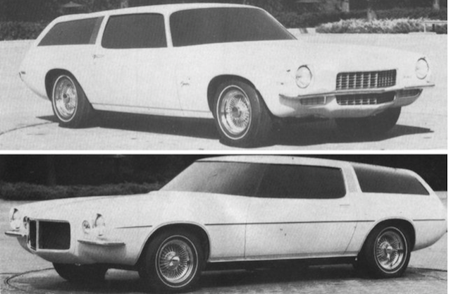 Camaro facts station wagon 2