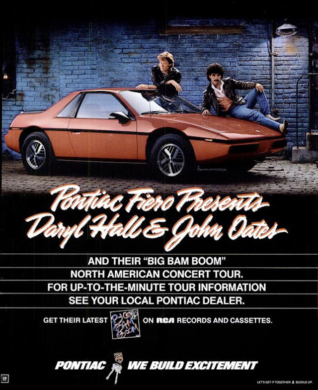 Hall Oates Fiero