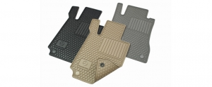 ALL WEATHER FLOOR MATS FROM $112.00 - Mercedes-Benz (Q-6-68-0710)