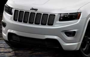 Jeep WK2 '14-'15 Grand Cherokee Gloss Black Grille Trim Ring Set