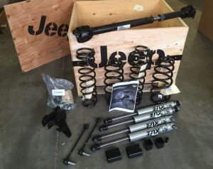 "***BEST SELLER*** Jeep 2012-2015 JK Wrangler 2"" Fox Racing Shox Lift Kit (Four Door)***PART IS IN STOCK****"