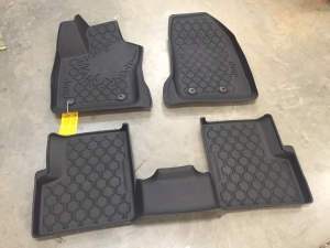 Jeep Renegade All-Weather Slush 3D Rubber Mat Set (Three Piece)