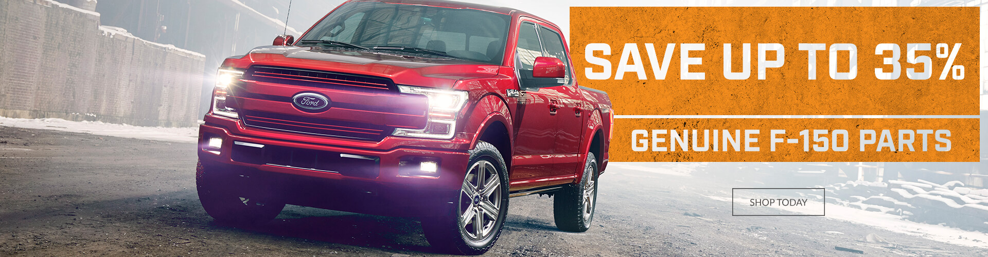 Save up to 35% on Ford F-150 Parts